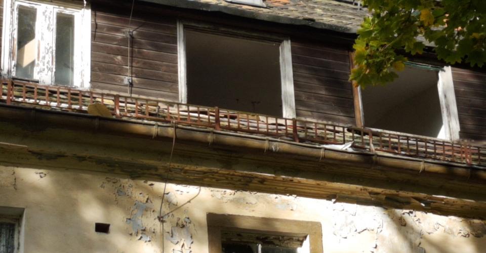Verfall des Schösserhauses
